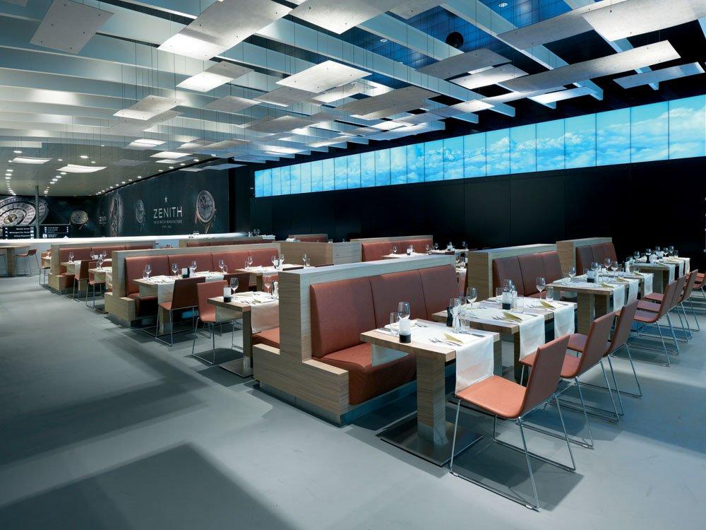 Digitales Entertainment im Restaurant upperdeck
