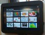 """data-touch bringt unter anderem sein 55"""" TouchOverlay mit (Foto: data-touch)"""