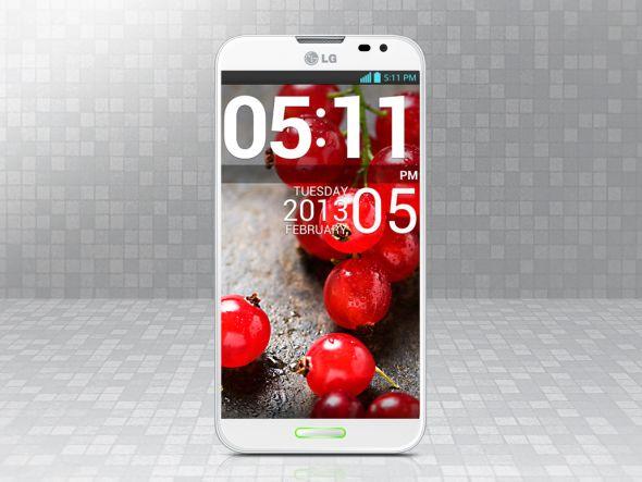 Gehört zu den Designpreisträgern: LGs erstes Full HD Smartphone Optimus G Pro(Foto: LG)