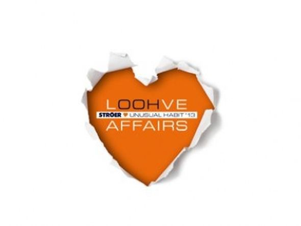 Liebe zu out of Home - Logo zur Roadshow 2013 (Grafik: Ströer)