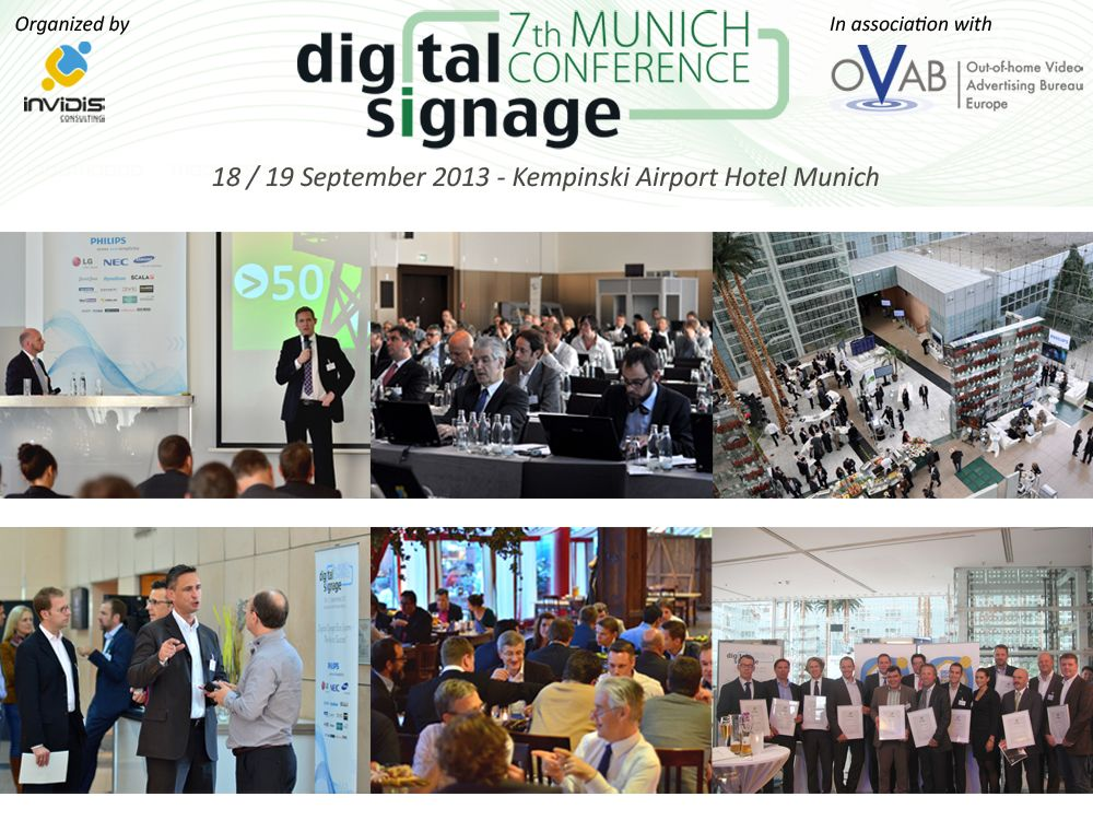 Digital Signage Conference Munich