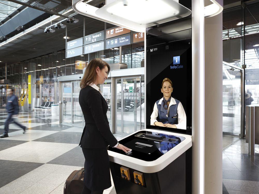 FMG testet InfoGates in Einkaufszentren