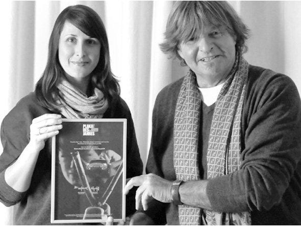 Amiel Pretsch (Creative Director) und Artdirektion Miriam Bauknecht von future:headz | bordercross marketing