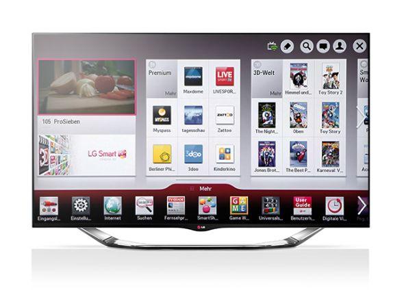 Absatz von LCD TVs stieg in Europa und Schwellenländern -LG 55LA8609 3D Smart TV (Foto: LG)