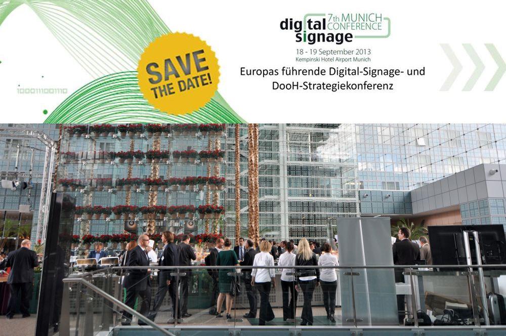 7. OVAB Digital Signage Conference Munich