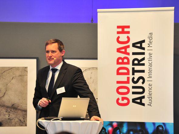 Florian Rotberg beim Round Table in Wien (Foto: Goldbach Media)