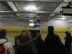 Aktuell sind 20 Displays beim BVB im Einsatz - Fans beim Stadionrundgang (Foto: dimedis)