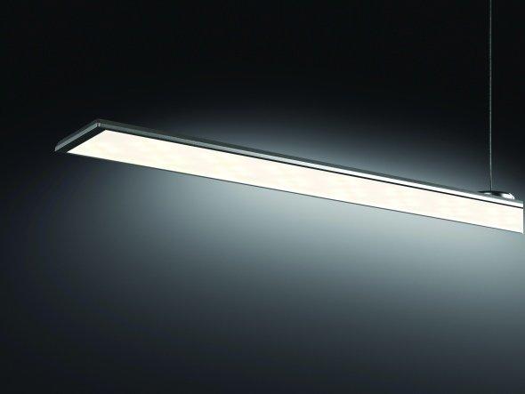 LG hat mit der SlimART die weltweit dünnste LED-Pendelleuchte im Programm (Foto: LG)