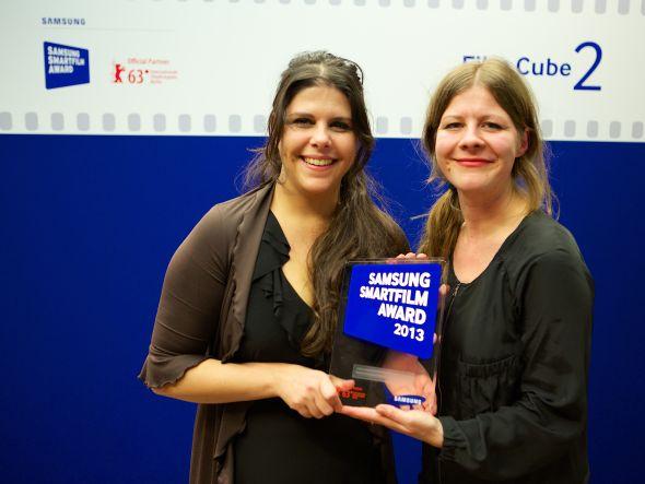 Filme von Myrna Maakaron (links) und Claudia Lehmann kommen ins Kino (Foto: Samsung)