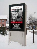 Könnte künftig Nachbarn bekommen: Weitere Displays sollen in Schwaz folgen (Foto: Follow Me)