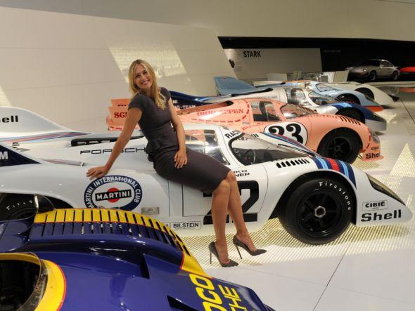 Auf Meldeliste 1 des Turniers: Maria Sharapova (Foto: Dr. Ing. h.c. F. Porsche AG)