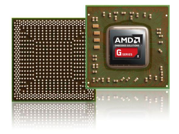 Gedacht für Digital Signage und Co. - AMDs neue SOC-Plattform (Foto: AMD)