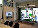 Lösung auf wenigen Quadratmetern - das VR-Modul im Konferenzraum (Foto: Christie)