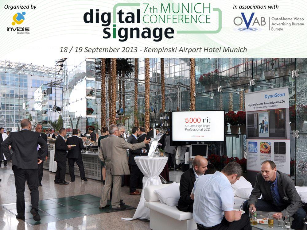 DynaScan wieder als Aussteller in München