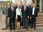 Gewählt: neuer FAW-Vorstand 2013 (Foto: FAW)