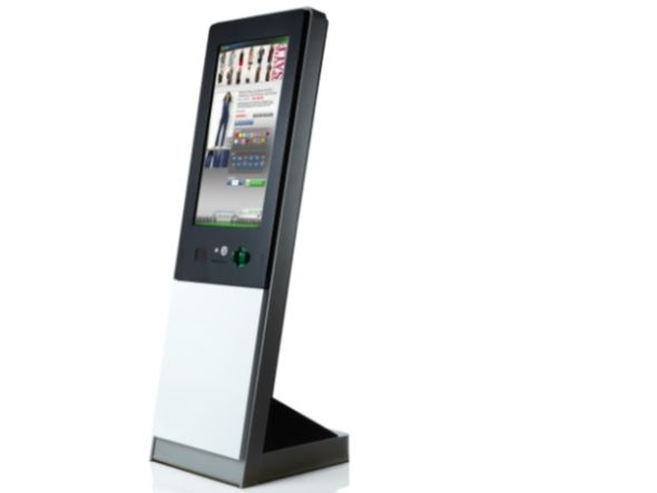 Touch Display aus Korea - Kiosk aus der NCR SelfServ-Serie (Foto: Alpha Display Ltd.)
