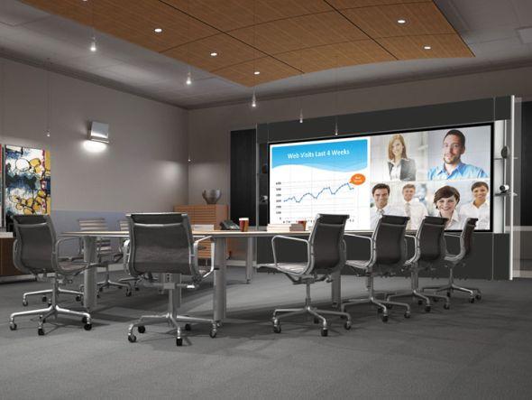 All in One - mit den neuen LPD Videowalls will Prysm Konferenzräume bestücken (Foto: Prysm)