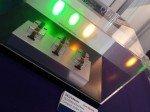 QD Laser zeigte Laser Dioden in 561nm und 594nm - Verwendung finden sie auch in Projektoren (Foto: Kletschke/ invidis.de)