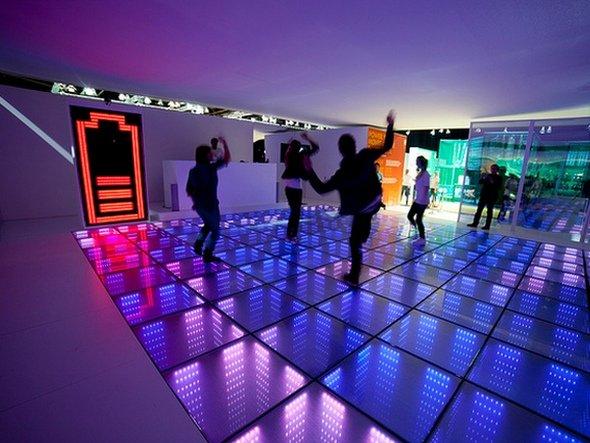 Da geht noch was: mehr Tanz = mehr energie = mehr Spaß = mehr Tanz... (Foto: Anneke Hymmen/ Energy Floors)