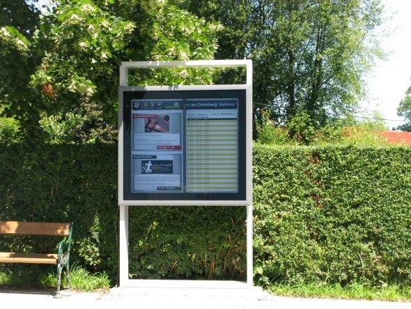 Seenland erweitert installierte Lösung - Digital Signage in einer der Gemeinden (Foto: Light Alliance Europe AG)