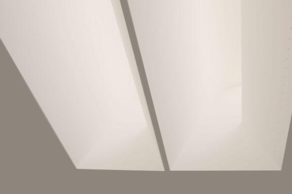 Indirektes Licht aus dem Shed-Dach (Foto: Ingenieure Bamberger GmbH & Co. KG)