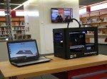 Replikator an Bord: 3D-Drucker gehört zum neuen Ensemble der Bib in Köln (Foto: dimedis)