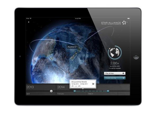 Star Alliance Navigator' : Emotionale und multimediale Inhalte für Kunden des Netzwerks (Foto: Sapient Nitro)