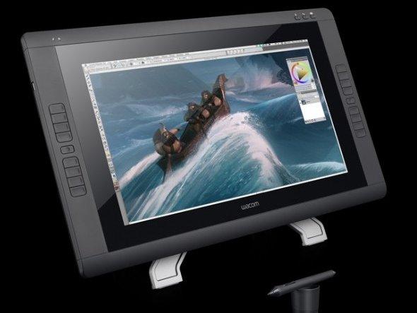 Für Präsentation und vor allem Kreation: Wacoms neues Cintiq 22HD touch (Foto: Wacom)