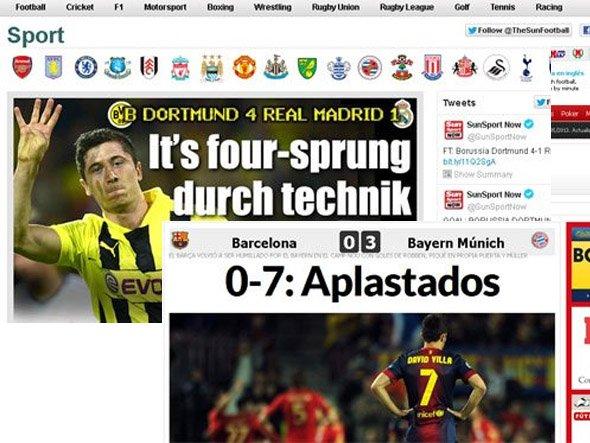 Foto: Screenshots The Sun / Marca