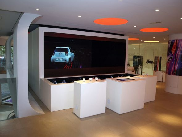 Präsentation von Toyotas iQ in Paris - Agenturen profitieren (Foto: Christie)