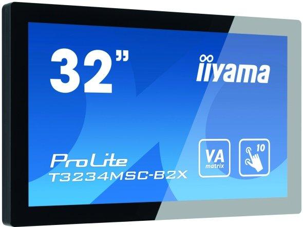ProLite T3234MSC-B2X von iiyama - robuster Multitouch 32 Zöller (Foro: iiyama)