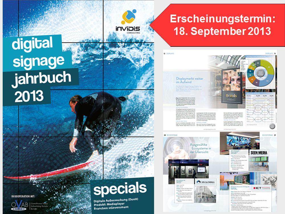 invidis Jahrbuch Digital Signage 2013