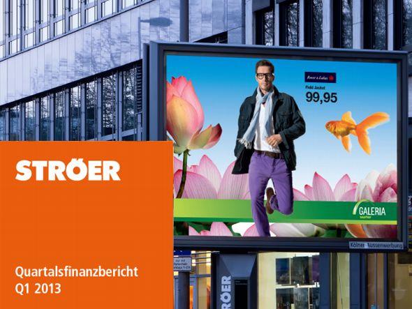 Ströer Media AG vermeldet positive Entwicklung