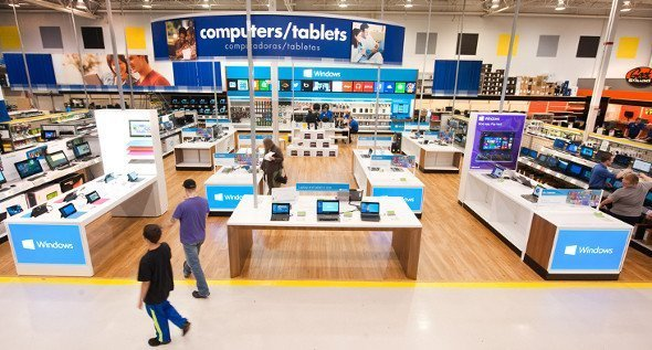 600 Windows Store als in Shop-in-Shop Konzept