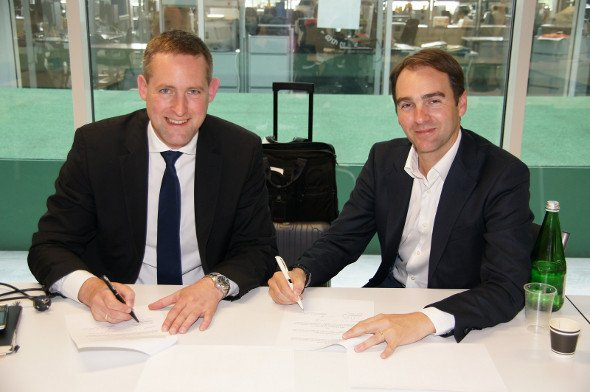 Kooperation: Florian Rotberg / OVAB Europe und Christian Vaglio-Giors / IG adscreen vereinbaren Kooperation