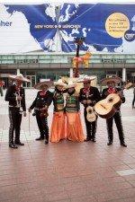 Eine Mariachi-Band sorgte für die akustische Untermalung -  Ergebnis: der AMA-Sieg im April (Foto: Initiative Airport Media)