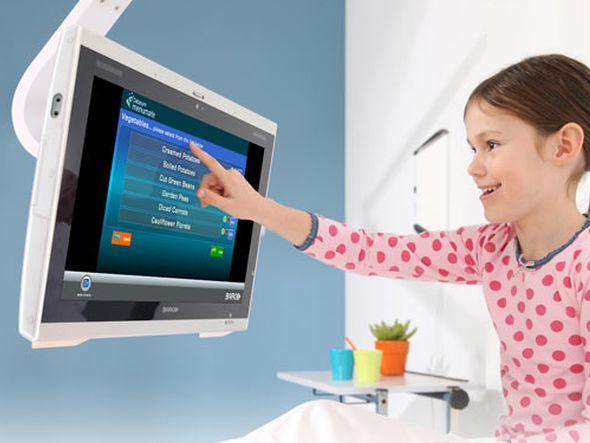 CareConnex: Barco und Hospedia kooperieren bei der Patienteninformation (Foto: Barco)