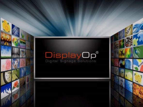 Die Digital-Signage-Software DisplayOp ist nun in der Version 4 am Markt (Screenshot: invidis.de)