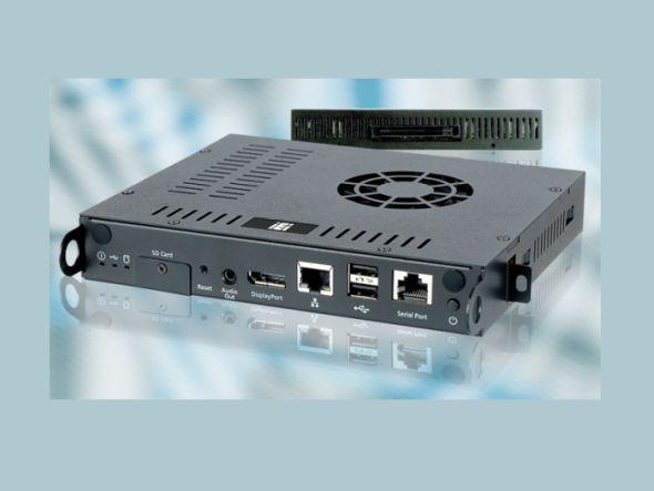 Der IOPS-Q67 ist ein neuer DS-PC nach OPS (Foto: COMP-MALL)
