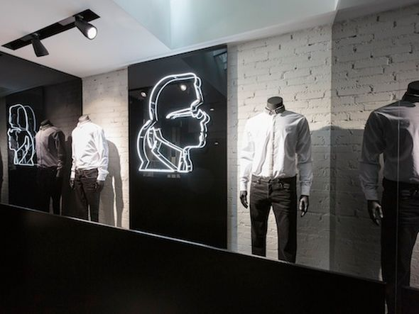 Alte Zöpfe wurden abgeschnitten: Karl Lagerfeld Store in Amsterdam (Foto: Emakina)