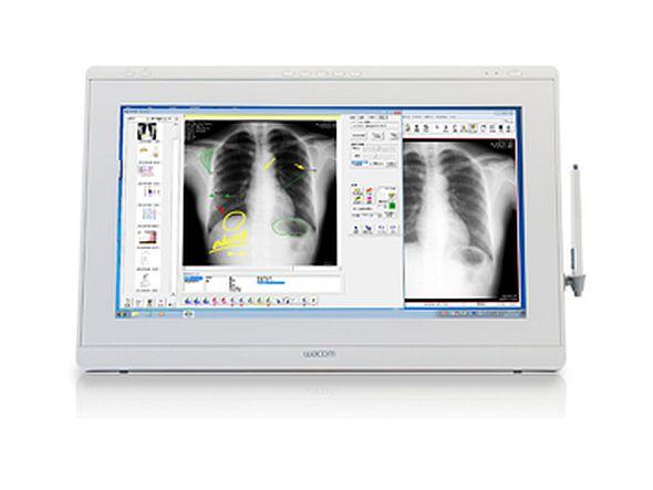 Wacom kommt mit neuen Lösungen für Krankenhäuser und Praxen - Modell DTK-2241/Medical (Foto: Wacom)