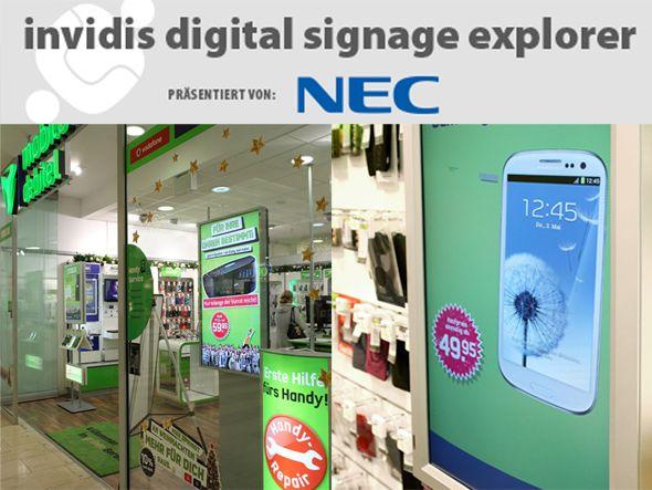 invidis Digital Signage Explorer: mobilcom-debitel