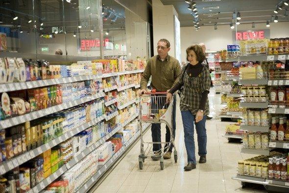 Einkaufserlebnis Supermarkt (Foto: Rewe)