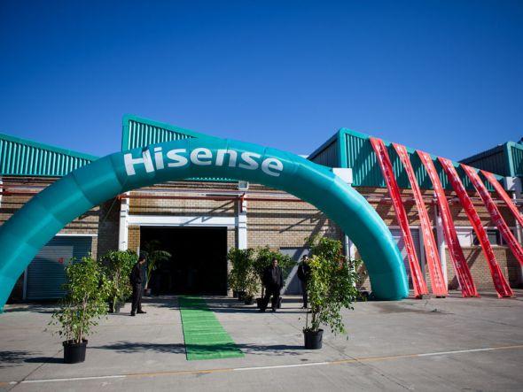In der Nähe von Kapstadt eröffnete Hisense im Juni 201 einen neuen Produktionsstandort (Foto: Hisense)