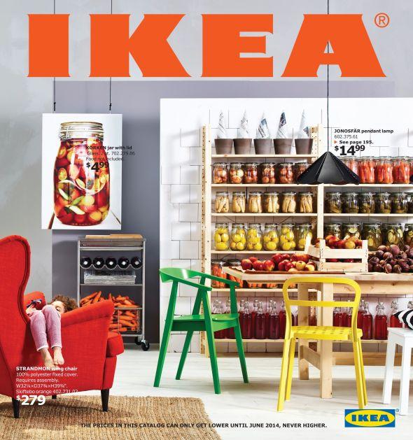 IKEA Teilen Ist Das Leitmotiv Des 2014er Katalogs Foto USA