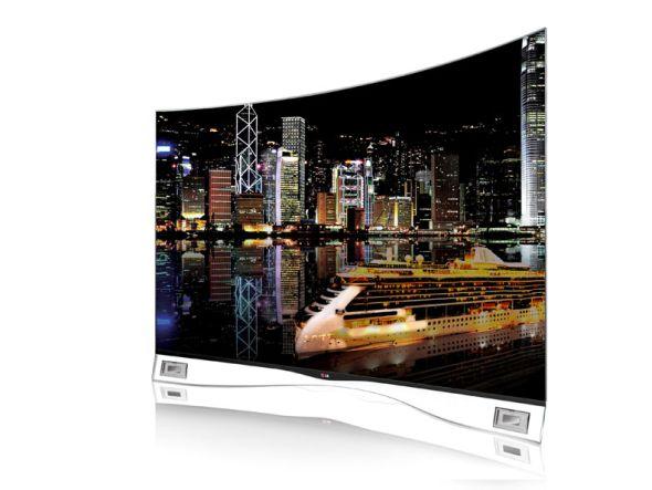 Mit Top-Modellen wie dem von LG in dieser Woche erstmals in den USA verkauften Curved OLED TV will man im Verlauf des Jahres punkten (Foto: LG)