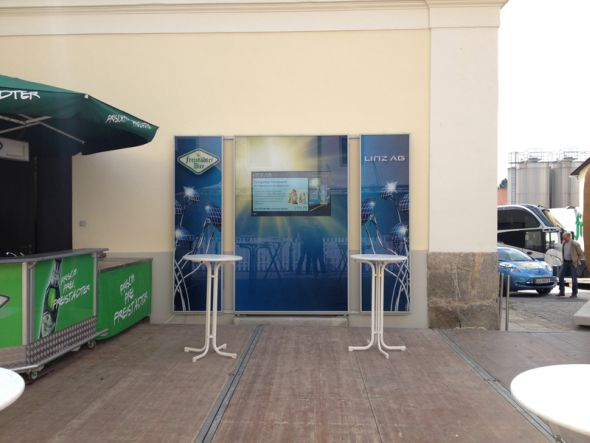 In Oberösterreich startet die LINZ AG mit Digital Signage durch (Foto: memedia)