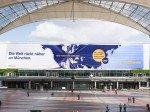 Lufthansa visualisiert: New York ist nahe an MUC (Foto: Flughafen Muenchen GmbH/ Thomas Effinger)