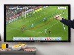 Abseitsdiskussion und Spielanalyse: Touch Pen als Tool für Sportbegeisterte (Foto: Panasonic)