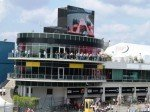Formel 1 GP am Nürburgring - Renn-Atmo auf großer Videowand (Foto: Screen Visions)